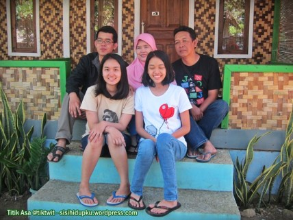 Me and my family...