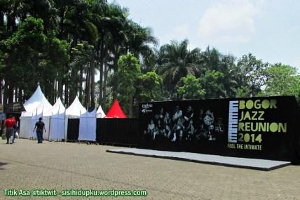 Pelataran luar Bogor Jazz Reunion