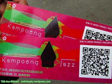 Tiket Kampoeng Jazz 2015