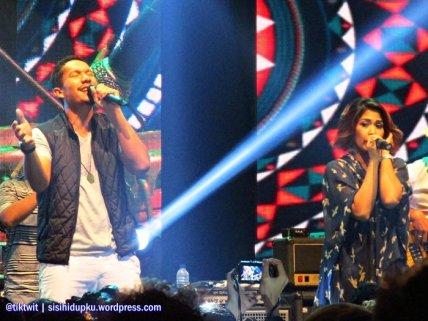 Duo vokalis Maliq yang kompak.