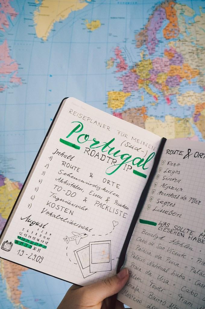 Inhaltsverzeichnis-Reiseplaner-Reisetagebuch