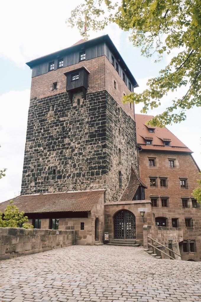 Veranschaulichung von meiner Tagestour durchs mittelalterliche Nürnberg