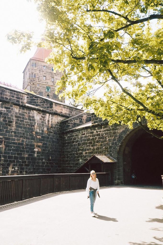 Am Tiergärtnertor beginnt meine Tagestour durchs mittelalterliche Nürnberg