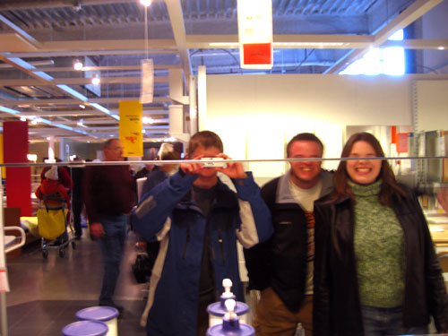 Dane, Luke and Kelly have their eyes surgically removed by an IKEA mirror