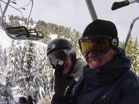 Shane & Neil - Sunrise Lift