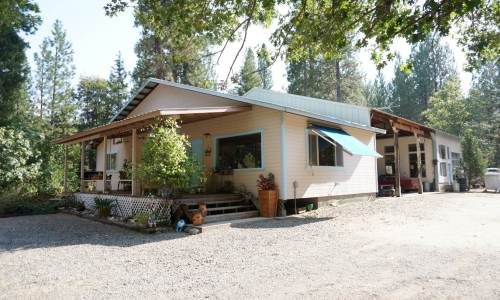 Northern California Creek side properties
