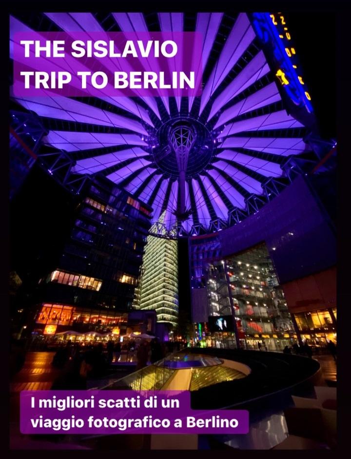 """""""THE SISLAVIO TRIP TO BERLIN"""". Presentazione del progetto."""