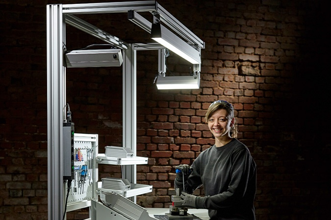 SIS Licht Industrie-Beleuchtung