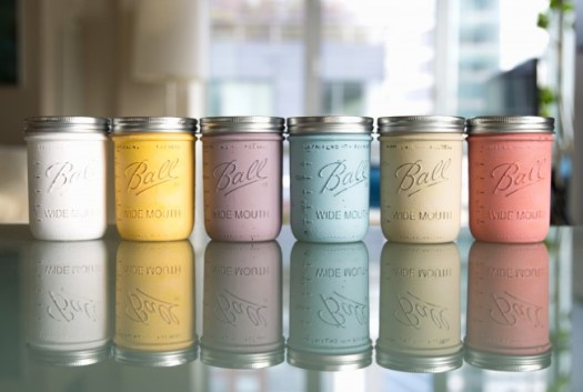 Mason Jar Painted Candle Diy Thesarahjohnson 5