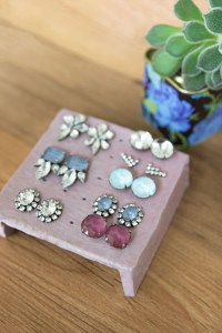 How to: Clay Earring Stand for Your Studs  SISOO