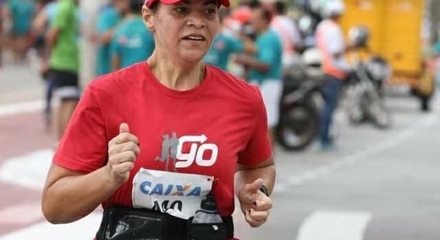 Rose Lebrão, 51 anos, curte a proximidade de sua primeira meia maratona