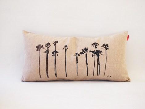 Housse Coussin Palmiers 1