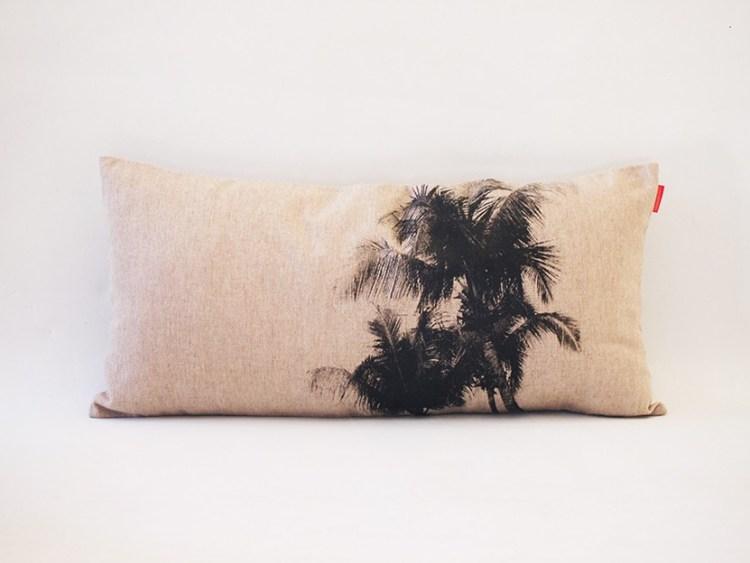 Housse Coussin Palmiers 3