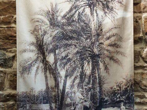 Tentures Morales Palmiers