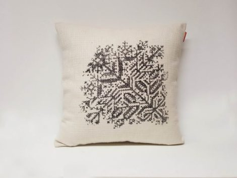 Housse Coussin Sérigraphie Broderie n°3