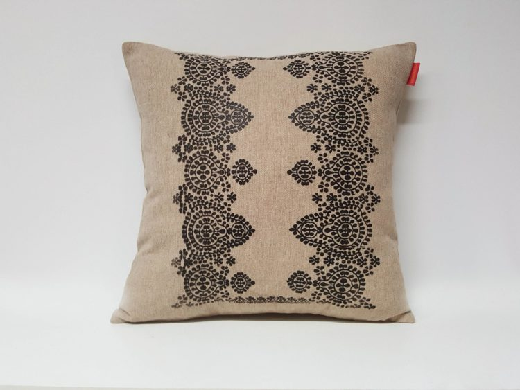 Housse Coussin Sérigraphie Broderie n°7