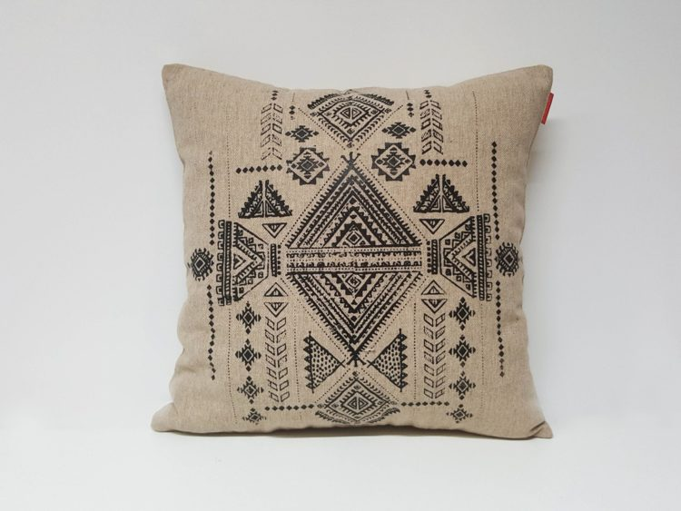 Housse Coussin Sérigraphie Broderie n°8