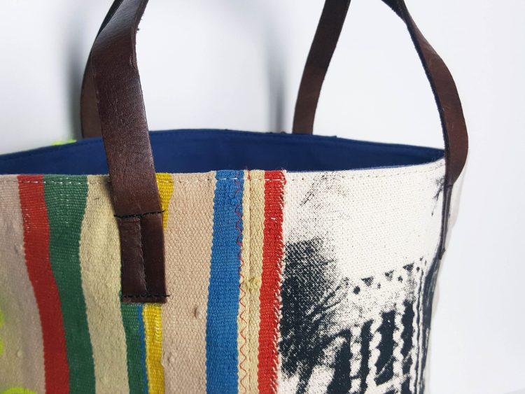 détails du sac seau Dounia