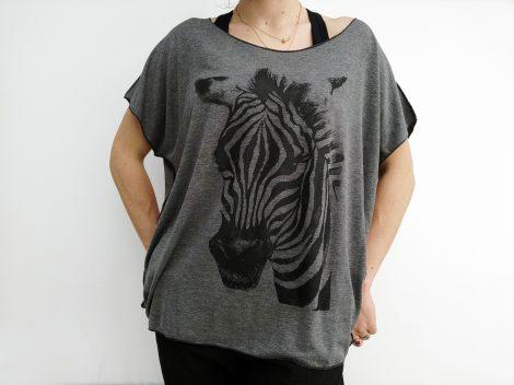 tee shirt Zèbre