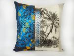 coussin-paysage-maroc-serigrpahie-bleu-turquoise