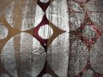housse-de-coussin-patchwork-rond-argente-deco-industriel-moderne-zoom