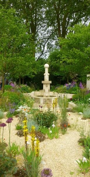 White irises in Cleve West's garden