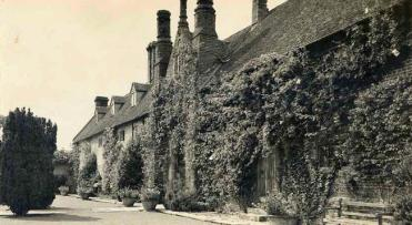 The Top Courtyard in Vita's era. Copyright Adam Nicolson.
