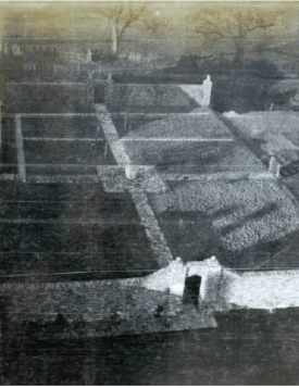The making of the rose garden in progress 1931