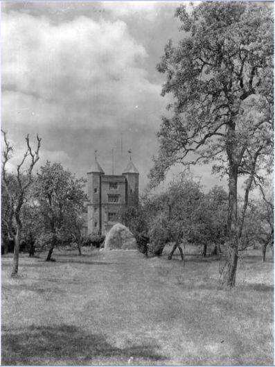 The Orchard 1942. Copyright Adam Nicolson