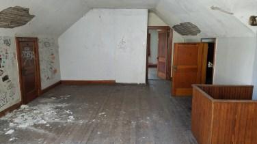 Master Bedroom (wall of future walk-in closet)
