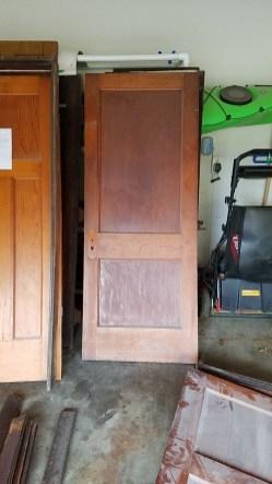 Original Master bath entry door.