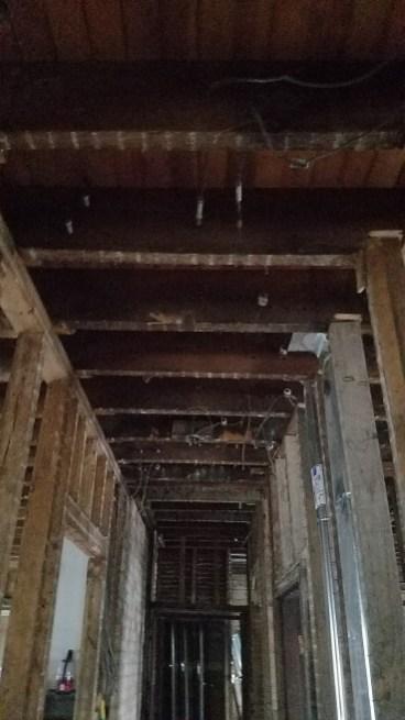 1st floor hallway.