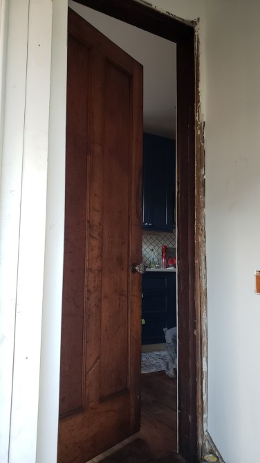 View from rear entry foyer