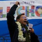 Luis Arce del Movimiento al Socialismo (MAS) gana elecciones en Bolivia