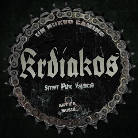 Logo de kradiakos street punk antifascista