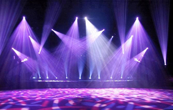 iluminacin u efectos y a bailar