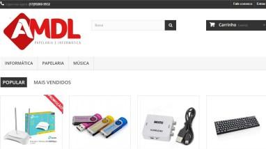AMDL Papelaria e informática - Google Chrome