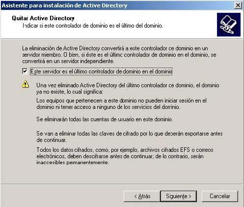 Servidor controlador de dominio, servidor miembro y servidor independiente