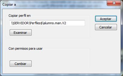 Creación de Perfiles móviles en Windows 2008 Server-Windows 7