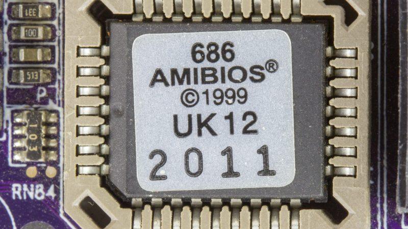 Elementos de un ordenador: La BIOS, la pila y el chipset.