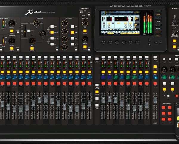 Behringer X32  SRS Audio