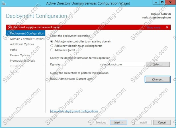 Read Only Domain Controller Kurulum (5)