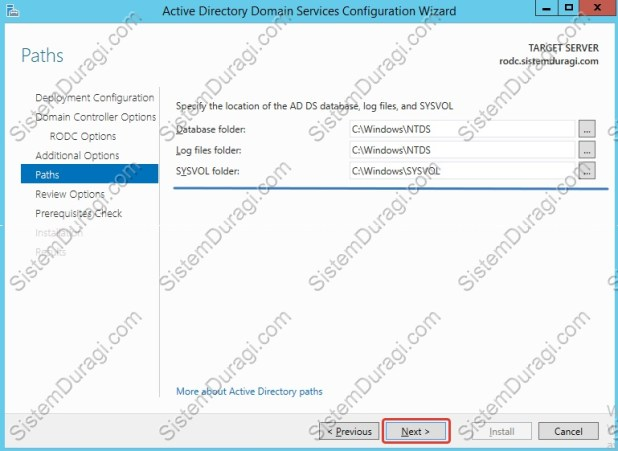 Read Only Domain Controller Kurulum (9)