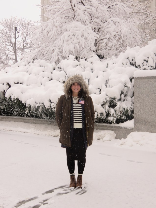 temple square is a winter wonderland!