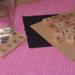 DIY Word Coasters
