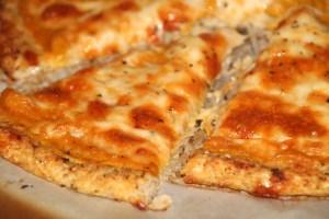 Cauliflower Pizza with a Butternut Squash Sauce