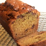 Banana Bread with Chocolate Chips and Sunflower Butter