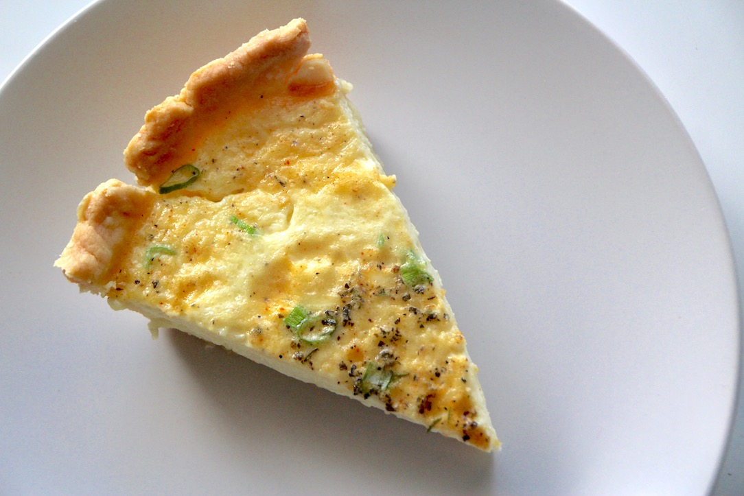 Onion and Herb Quiche