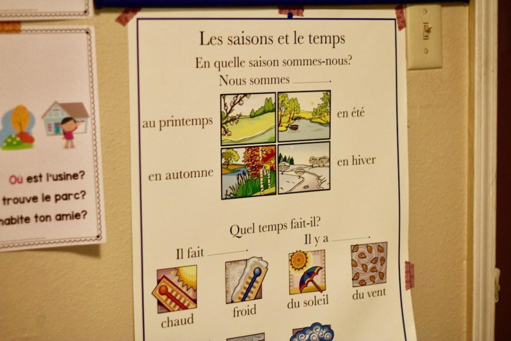 homeschool French