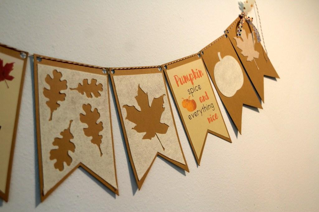 DIY Fall Banner